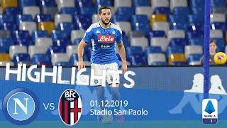 Highlights Serie A - Napoli vs Bologna 1-2