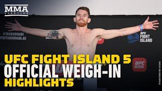 UFC Fight Island 5 Official Weigh-In Highlights - MMA Fighting