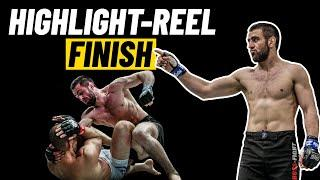 Kiamrian Abbasov's HIGHLIGHT-REEL Finish Of Yushin Okami