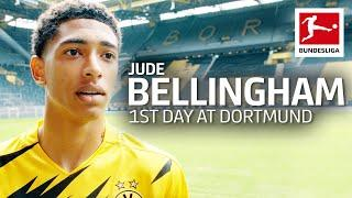 Jude Bellingham's First Day at Borussia Dortmund