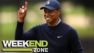 Tiger Woods Running Late To Meet Drew Brees Before Crash, Kid Called Out For Trashing Cam Newton |WZ
