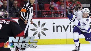 NHL Stanley Cup 2021 Second Round: Lightning vs Hurricanes   Game 5 EXTENDED HIGHLIGHTS   NBC Sports