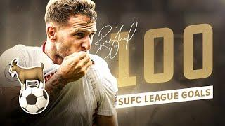 Billy Sharp | 100 goals for Sheffield United | Record English League goal scorer this century