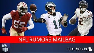 NFL Rumors On Dee Ford, Allen Robinson, Earl Thomas, Carson Wentz, JJ Watt, 2021 NFL Draft | Mailbag