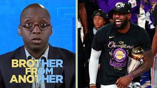 LeBron James bolsters GOAT case with Lakers ring | Brother from Another | NBC Sports