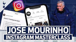 JOSE MOURINHO'S INSTAGRAM MASTERCLASS | Jose's 7 tips to improve your Instagram!