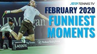 Funny ATP Tennis Moments and Fails: February 2020
