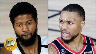 Did Lillard and Paul George really 'clear the air' after beef involved family members?   The Jump