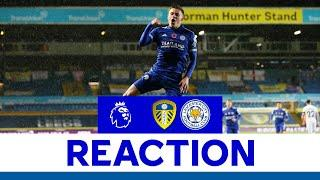 'We Stuck To The Game Plan' - Harvey Barnes | Leeds United 1 Leicester City 4