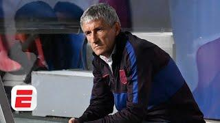 Quique Setien sacked by Barcelona! Will 'shot in the dark' Ronald Koeman do any better? | ESPN FC