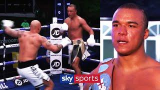 Fabio Wardley speaks after demolishing Simon Vallily within 3 rounds   Post-fight Interview