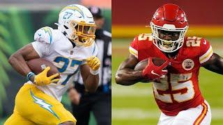 Rookie Running Back Showdown Clyde Edwards-Helaire vs. Joshua Kelley | Chargers Film Room