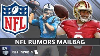NFL Rumors Mailbag: Panthers Trade Up To Pick Justin Fields In 2021 NFL Draft? Kirk Cousins Trade?