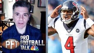 Patrick Mahomes vs. Deshaun Watson: Who got better extension? | Pro Football Talk | NBC Sports