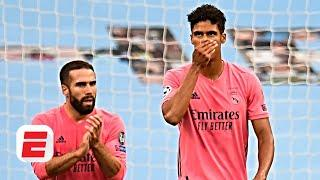 Raphael Varane CRUMBLED in his NIGHTMARE game for Real Madrid vs. Manchester City | ESPN FC