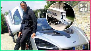 Why did Cristiano Ronaldo move the cars out of his garage in Turin? | Oh My Goal