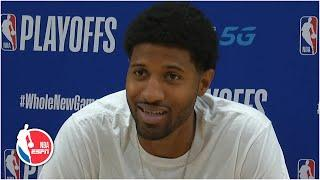 Paul George vows to provide more support for Kawhi Leonard going forward   2020 NBA Playoffs