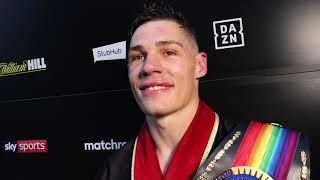 CHRIS BILLAM-SMITH REACTS TO 2nd ROUND STOPPAGE OF NATHAN THORLEY @ FIGHT CAMP / TALKS McCARTHY BOUT