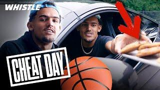 What NBA Star Trae Young REALLY Does On His CHEAT DAY!